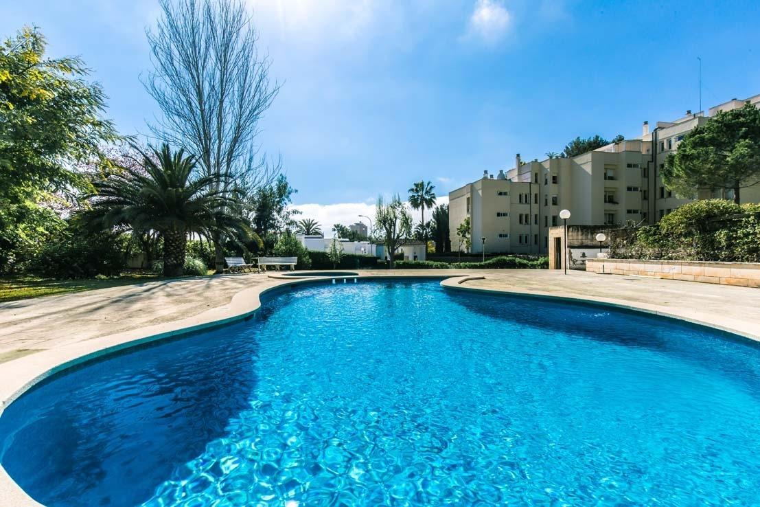 Terraza y vistas en Cas Catala