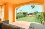 Terraza y jardin en Santa Ponsa