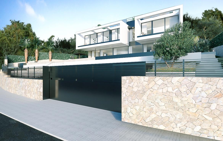 Nueva construcción en Cas Catala