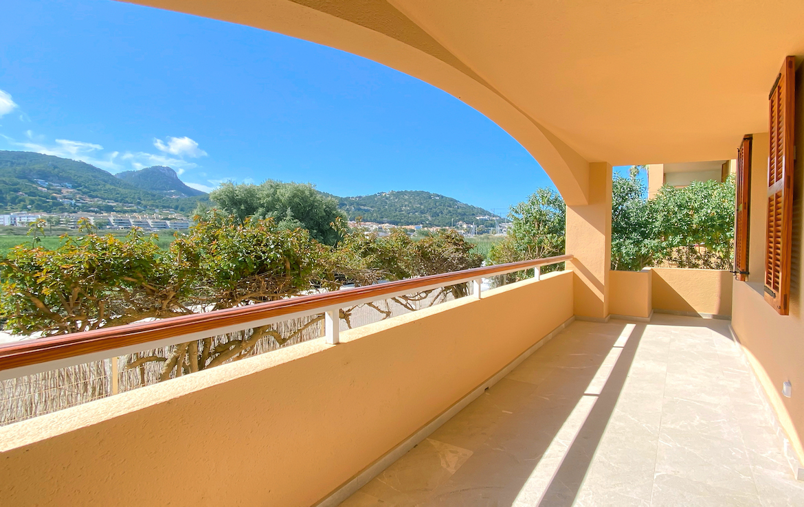 Reformed apartment with private garden in Puerto d Andratx