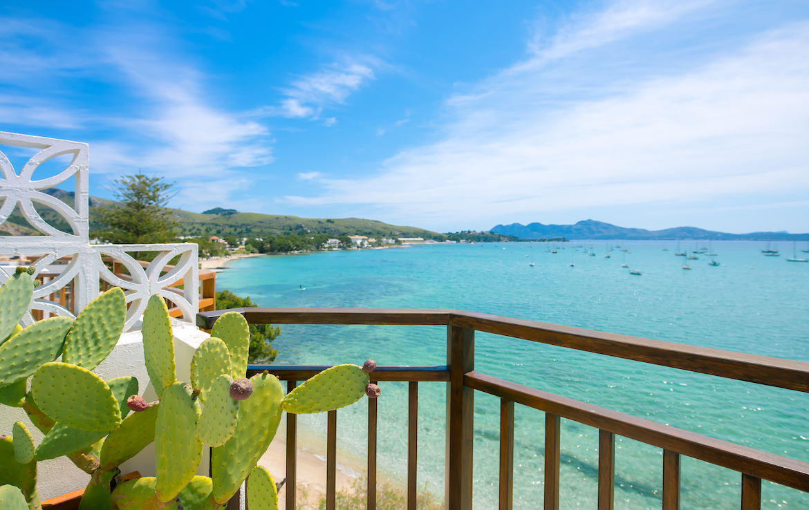 sea view penthouse in Puerto Pollensa