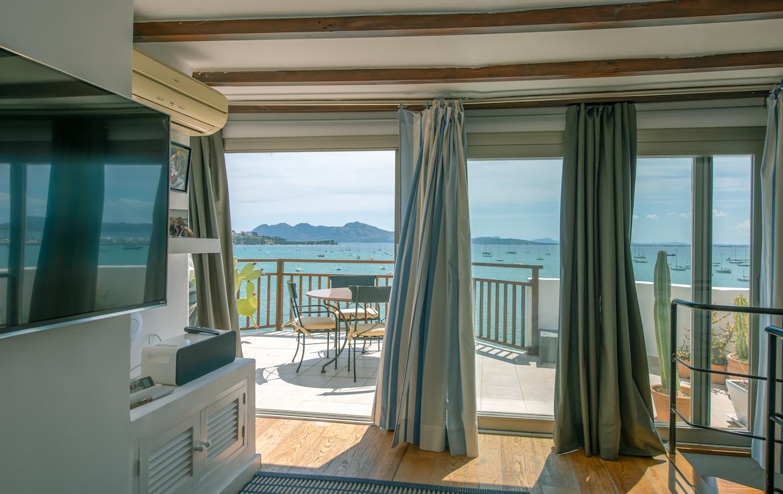 sea view penthouse Puerto de Pollensa